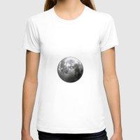 luna T-shirts featuring Luna by Claudia Martin