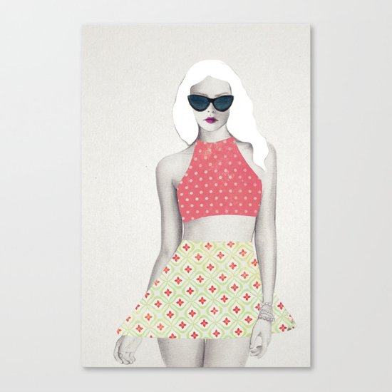 Peggy  Canvas Print