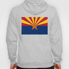Arizona State flag, Authentic version - color and scale Hoody