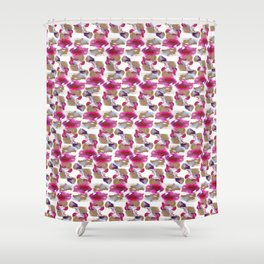 Eloise Abstract Painting Shower Curtain