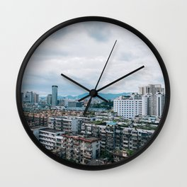 Landscape Photography by xiuhao lin Wall Clock