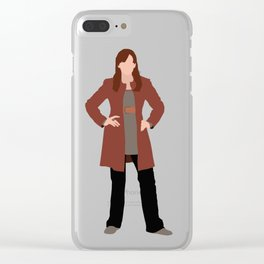 Donna Noble: The Woman Who Forgot Clear iPhone Case
