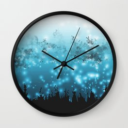 Moralized Forest  Wall Clock