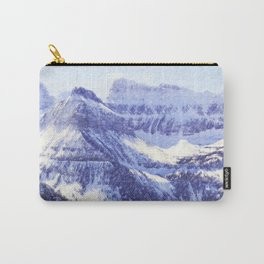 Mountain in winter Carry-All Pouch