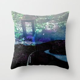 Over the River Throw Pillow