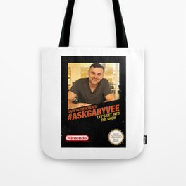 Ask Gary Vee Show - NES Tote Bag
