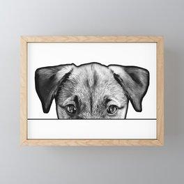 WALK ME! Framed Mini Art Print