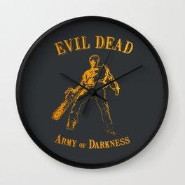 Ash Wall Clock