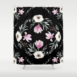 Magnolias, Eucalyptus & Anemones Shower Curtain