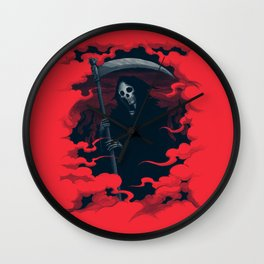 Mort Wall Clock