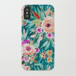 GOOD LIFE Colorful Floral iPhone Case