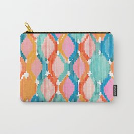 marmalade balinese ikat Carry-All Pouch