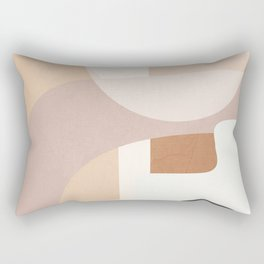 Abstract Minimal Shapes 8 Rectangular Pillow