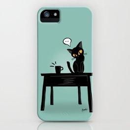 Drop it down iPhone Case