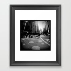 Breakfast in the City Framed Art Print