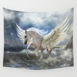 Pegasus Rising Wall Tapestry