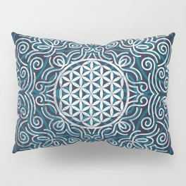 Flower Of Life (Silver Lining) Pillow Sham