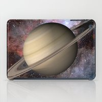saturn iPad Cases featuring Saturn by Hoeroine