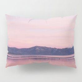 Rose Colored Dream of Lake Tahoe Pillow Sham