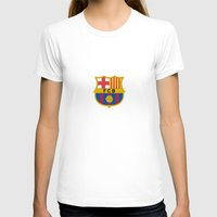 barcelona T-shirts featuring Barcelona by Kesen