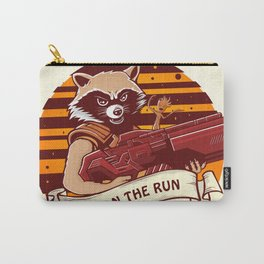 Rocket Raccoon / Fox on the Run Carry-All Pouch
