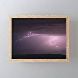 Summer Storm Framed Mini Art Print