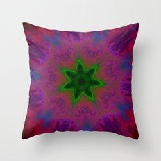 Kaleidoscope 'K1 SN' Throw Pillow