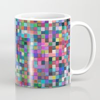 stained glass Mugs featuring stained glass by spinL