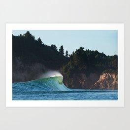 Lone Peak Art Print