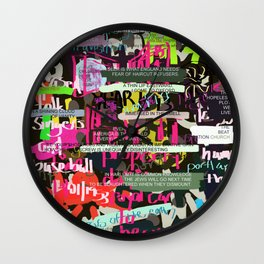 Ed Dorn - collected work Wall Clock