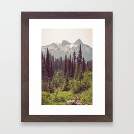Faraway - Wilderness Nature Photography Framed Art Print