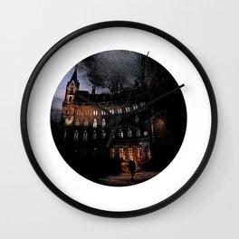 Spooky Victorian London Architecture Wall Clock