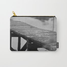 Old wooden pier. Carry-All Pouch