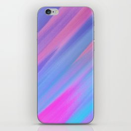 SLOW AIR - Abstract Digital Image Texture Glitch Art iPhone Skin