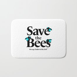 SAVE THE BEES - GOLF WANG Bath Mat
