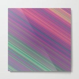 Diagonal Stripes #2 Metal Print