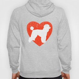 Heart For Poodles Hoody