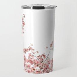 Cherry Blossoms (Color) Travel Mug