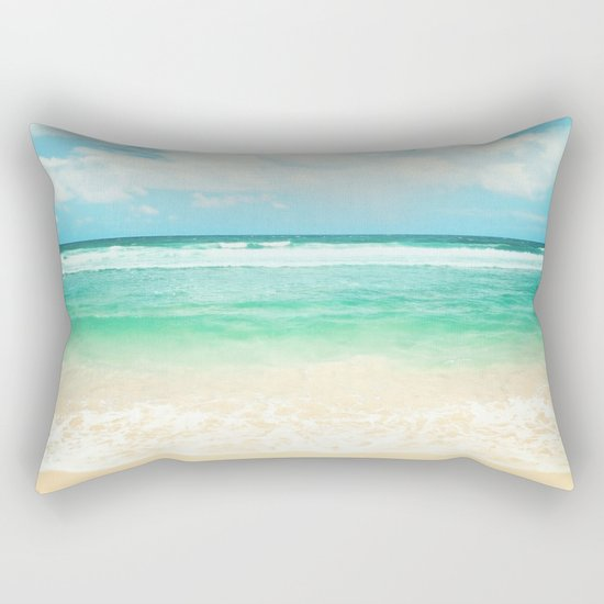 endless sea Rectangular Pillow