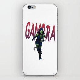 Derby Gamora iPhone Skin