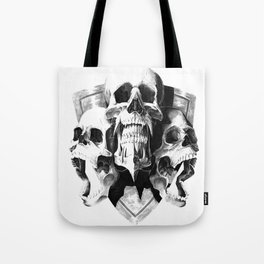 ominous dark without type Tote Bag