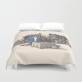 Collection of Curiosities Duvet Cover