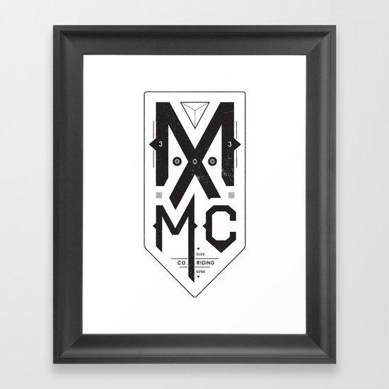 MXMC Framed Art Print