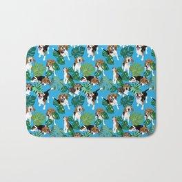 beagle tropical Bath Mat