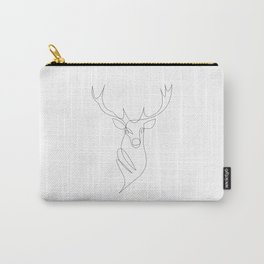 oh deer - one line Carry-All Pouch