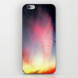 Cometa Rossa iPhone Skin