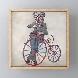 Barry Gangster Farthing - Cream Framed Mini Art Print