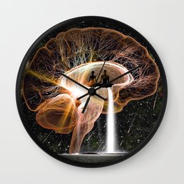 Pineal Paradise Wall Clock