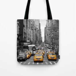 New Yorks Yellow Army 2 Tote Bag