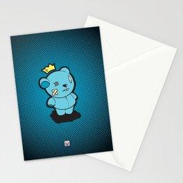 Blue Dead Bear Stationery Cards